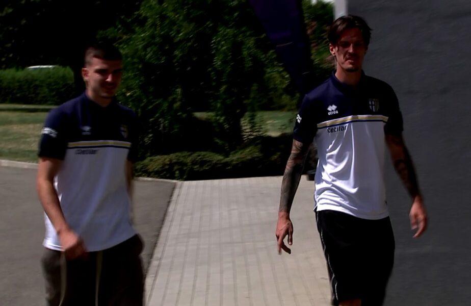 """Dennis Man şi Valentin Mihăilă, protejaţi de Buffon la Parma. """"Nu îndrăznesc să-i dau scăriţă!"""" :) Man vrea să-l depăşească pe Mutu, iar Mihăilă visează la Champions League"""