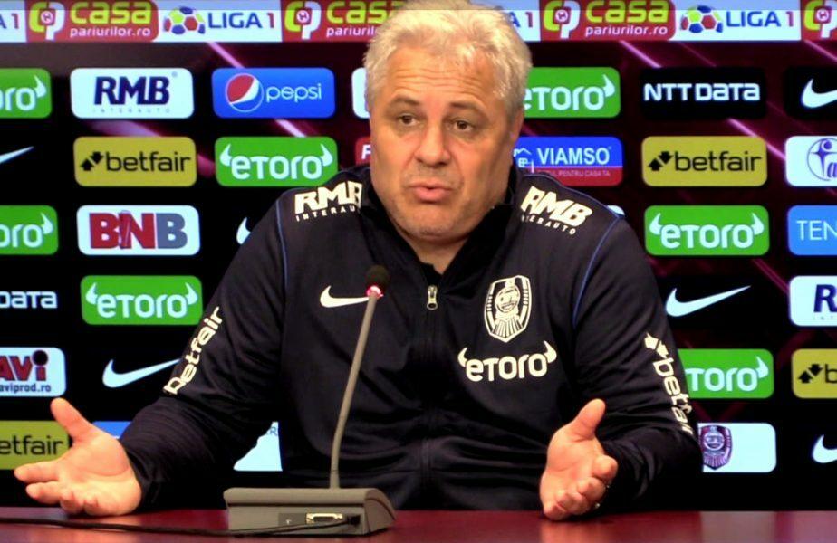 Marius Şumudică, antrenor CFR Cluj, la conferinţă de presă