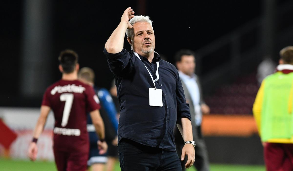 Marius Şumudică, euforic din postura de lider