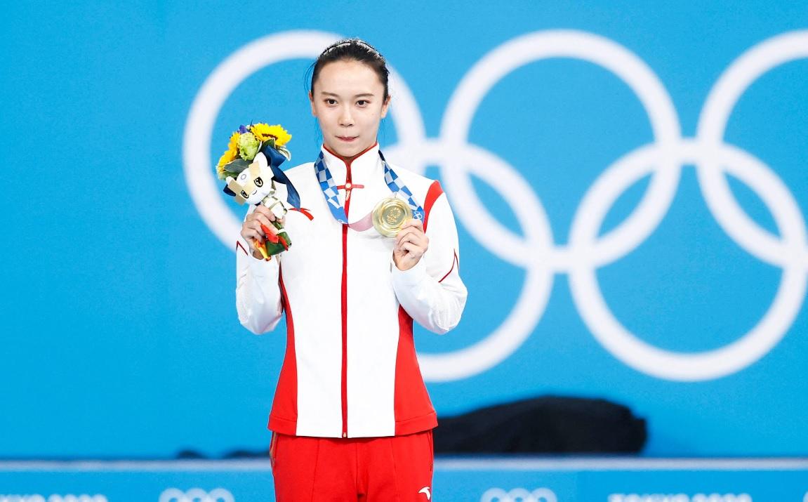 O campioană olimpică şi-a ieşit din minţi! I s-a cojit medalia