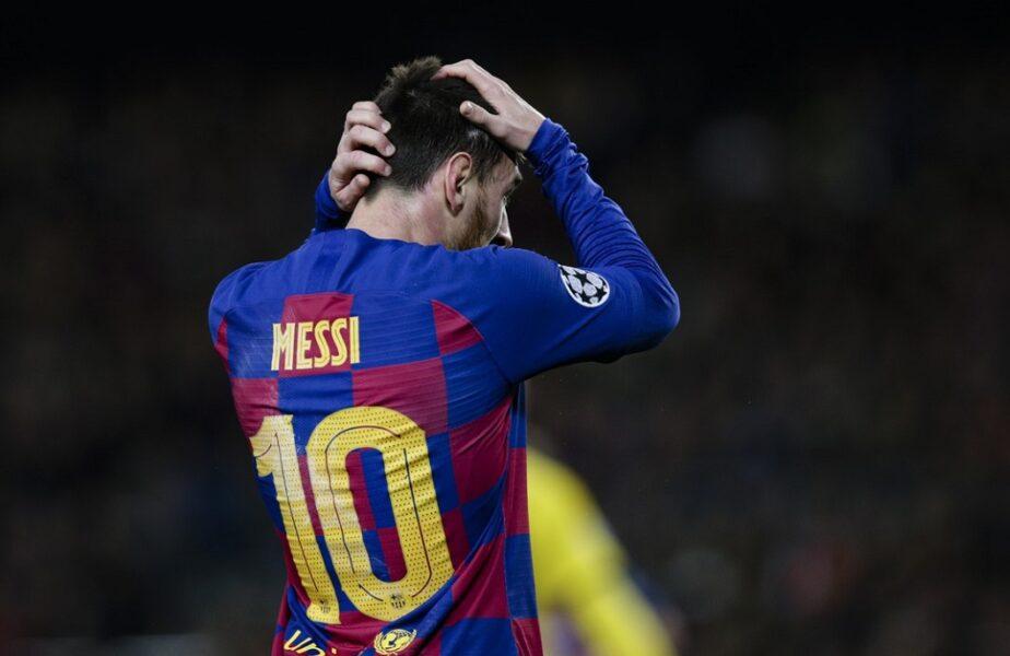 Lionel Messi, în stare de șoc