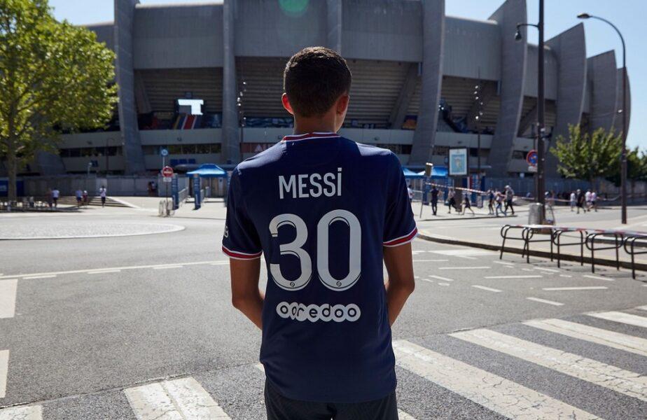 Nebunie în Franța după venirea lui Lionel Messi! Tricoul argentinianului a fost interzis complet la Brest – PSG