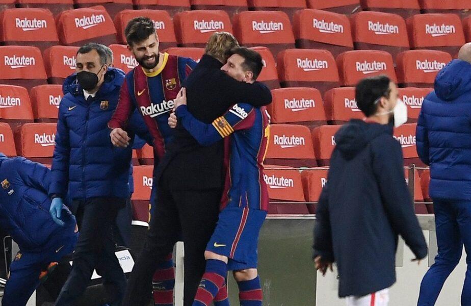 """Ronald Koeman, mesaj emoţionant pentru Leo Messi: """"Asta te face cel mai bun jucător din lume!"""" Antrenorul Barcelonei nu îşi poate reveni după anunţul care a şocat planeta"""
