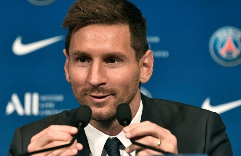 """Lionel Messi, prezentat la PSG! """"Cum va fi să joc alături de Neymar și Mbappe? O nebunie!"""". Declarații spectaculoase ale argentinianului"""