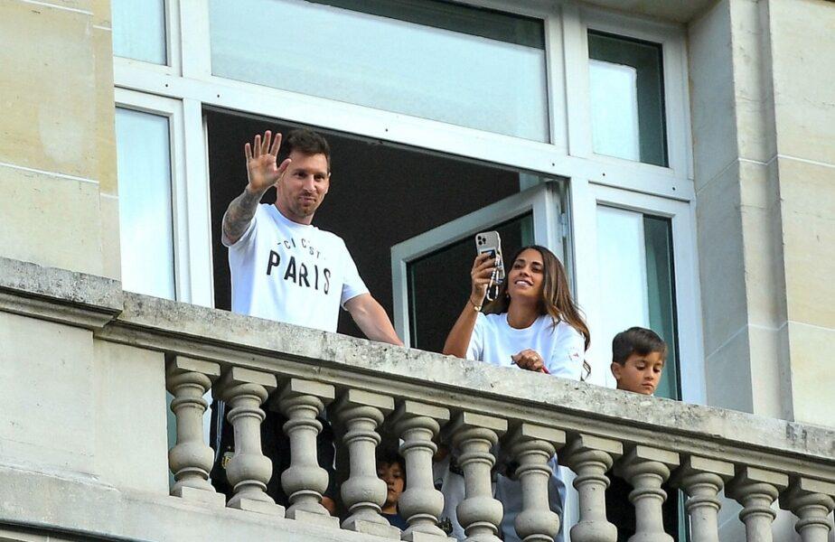 Primele imagini cu Lionel Messi în tricoul lui PSG, pe Parc des Princes. Ce număr şi-a ales starul argentinian!