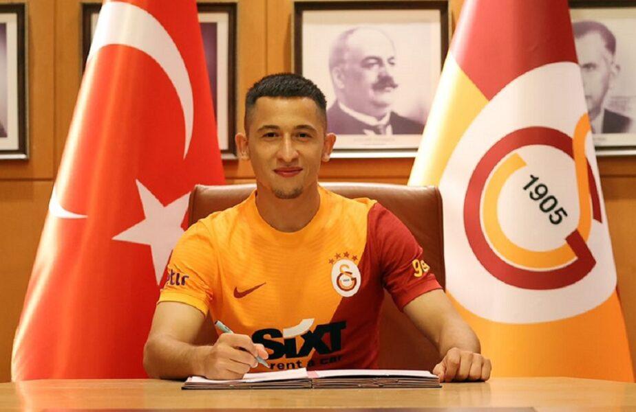 Olimpiu Moruţan, prezentat oficial la Galatasaray. Primele imagini cu mijlocașul român la noua echipă