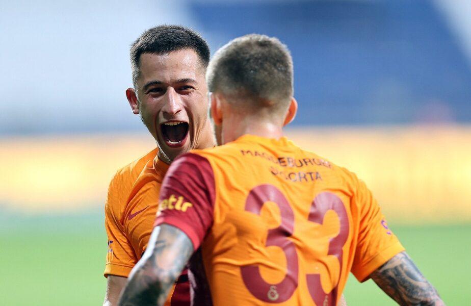 """Olimpiu Moruțan, """"Messi din Istanbul""""! Gol fabulos după ce și-a umilit doi adversari. Cicâldău, pasă senzațională"""
