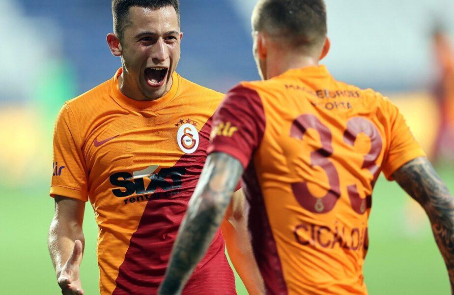 """Gică Hagi mizează pe Olimpiu Moruţan şi Alexandru Cicâldău: """"Merită să fie aici!"""" Ce le-a transmis """"Regele"""" celor doi mijlocaşi de la Galatasaray"""