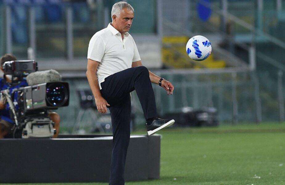 """Jose Mourinho, debut perfect la AS Roma! """"The Special One"""" e cu un pas în grupele Conference League + fosta lui echipă s-a făcut de râs"""