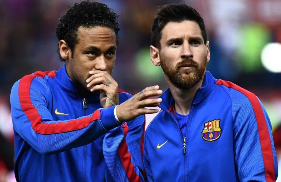 """Neymar nu a mai așteptat anunțul oficial. Postarea fabuloasă a brazilianului înainte de sosirea lui Lionel Messi la Paris. """"Înapoi împreună!"""""""