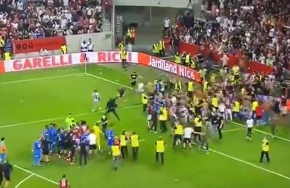 Bătaie generală la Nice – Olympique Marseille! Meciul din Ligue 1 a fost întrerupt. Jorge Sampaoli şi-a ieşit din minţi