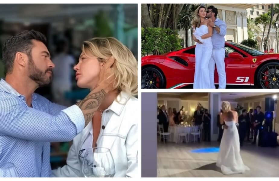Alina Vidican, nuntă de vis cu Claude Senhoreti. Imagini spectaculoase de la eveniment. Ce a făcut cu tatuajul cu Cristi Borcea