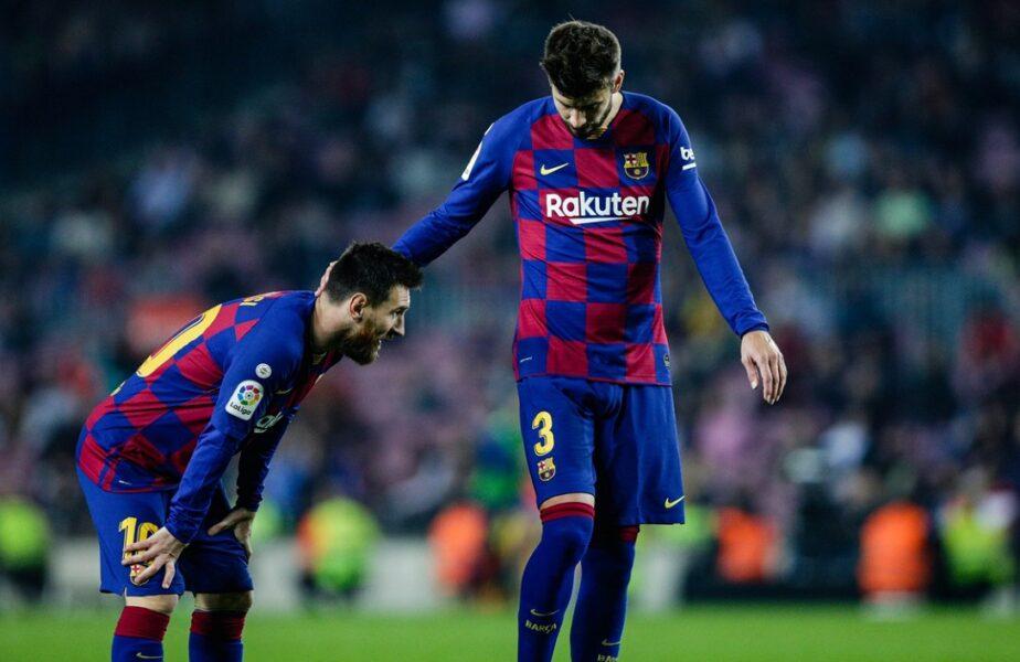 """""""Nimic nu va mai fi la fel"""". Gerard Pique şi-a luat adio de la Messi. Mesaj plin de emoţie. """"Te iubesc, Leo"""""""