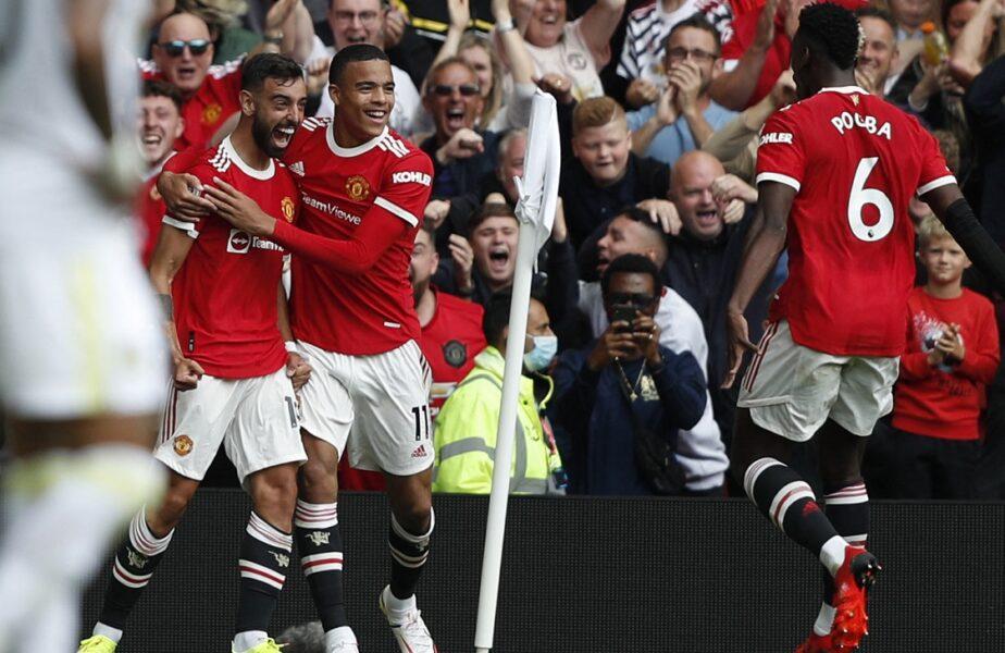 Manchester United – Leeds 5-1 | Paul Pogba a dat recital și a oferit 4 pase decisive. Bruno Fernandes, magic în prima etapă din Premier League!