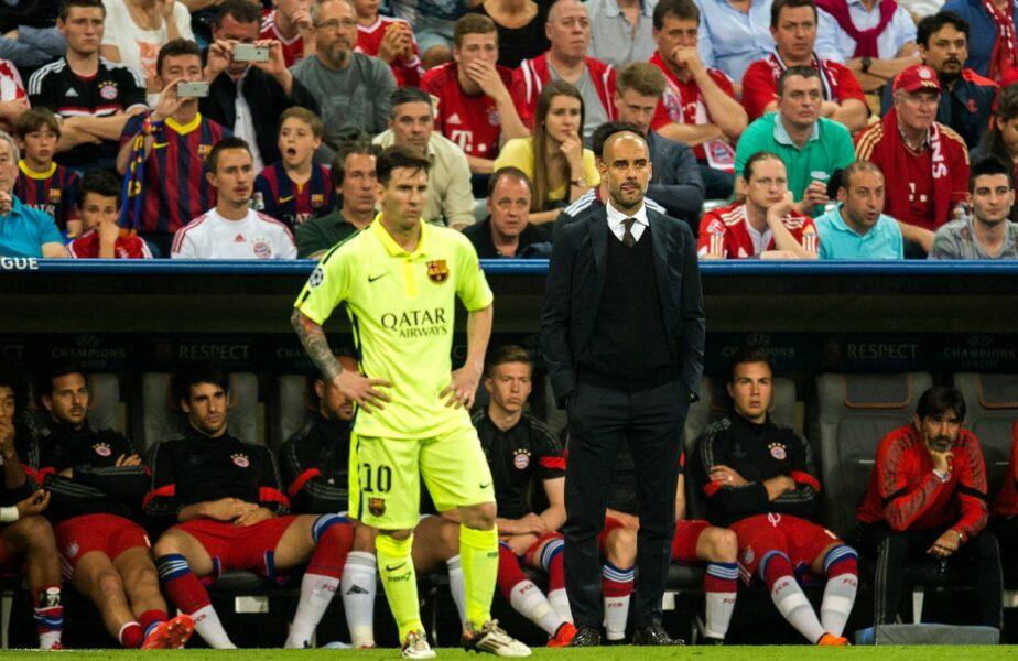 """Manchester City nu îl vrea pe Lionel Messi. Anunţul făcut de Pep Guardiola. """"Am crezut că va rămâne la Barcelona!"""""""