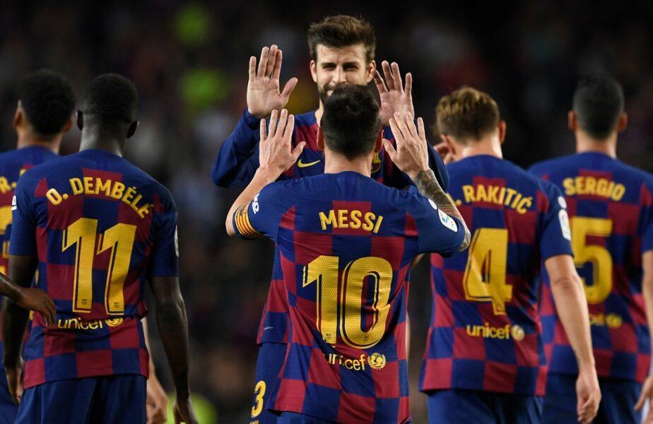 """Situaţie critică la Barcelona după plecarea lui Messi! Un singur jucător a acceptat reducerea salariului. """"A făcut-o din proprie iniţiativă"""""""