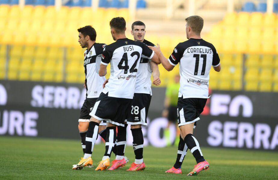 Parma – Benevento 1-0 | Valentin Mihăilă este eroul Parmei. A marcat în minutul 7 al prelungirilor şi l-a făcut pe marele Buffon să alerge pe tot terenul