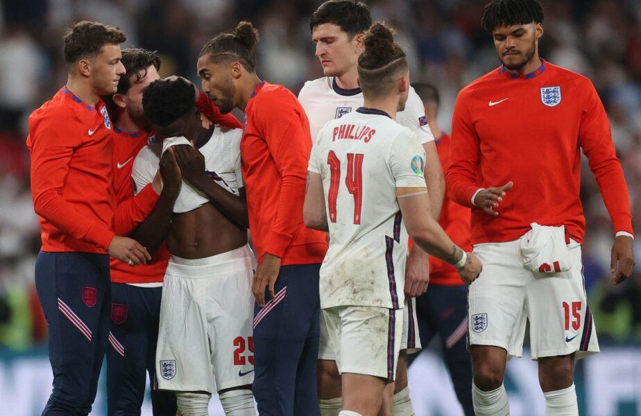 Anglia - Italia, tristeţe, după finala Euro 2020