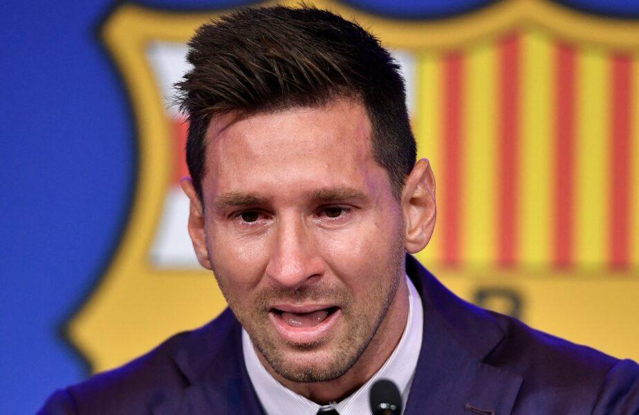 """Lionel Messi şi-a luat adio în lacrimi de la Barcelona: """"Nu sunt pregătit pentru asta! Eu şi familia mea am crezut tot timpul că vom rămâne acasă!"""" Cu ce regret a plecat de pe Camp Nou. Toate declaraţiile sunt AICI"""