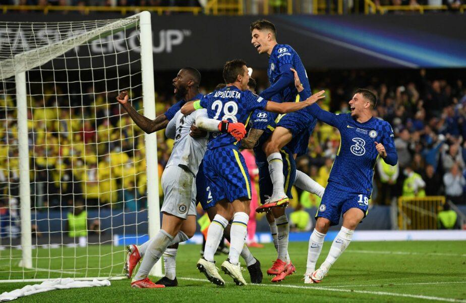 Chelsea – Villarreal 1-1 (6-5 d.l.d). Englezii câştigă Supercupa Europei la lovituri de departajare. Tuchel a schimbat portarul în minutul 119!