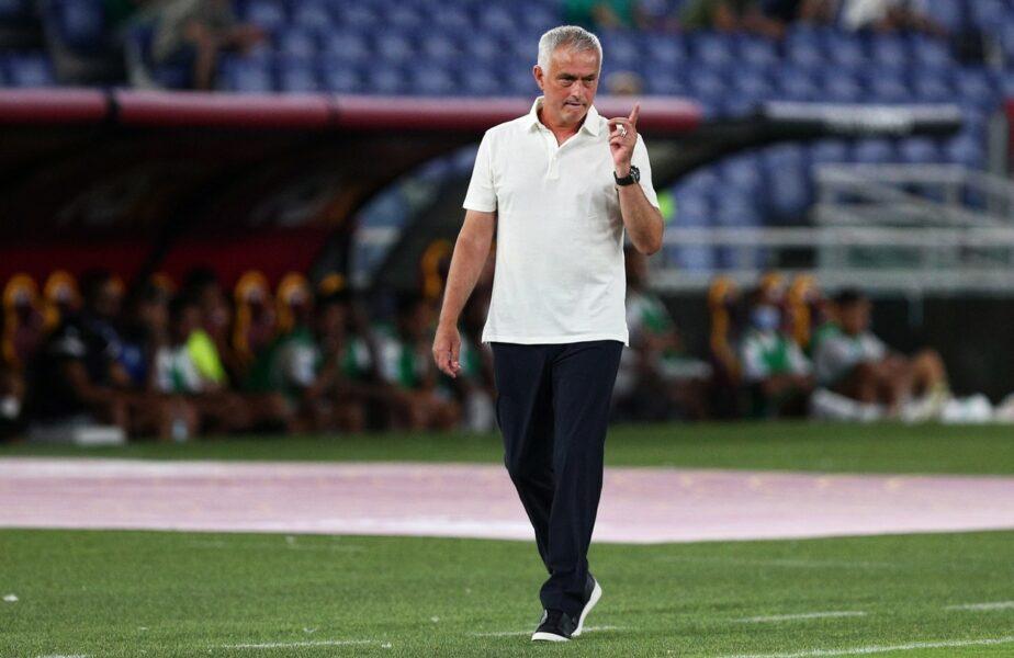 Jose Mourinho, cel mai scump transfer la AS Roma. Atacantul adus cu 40 de milioane de euro din Premier League