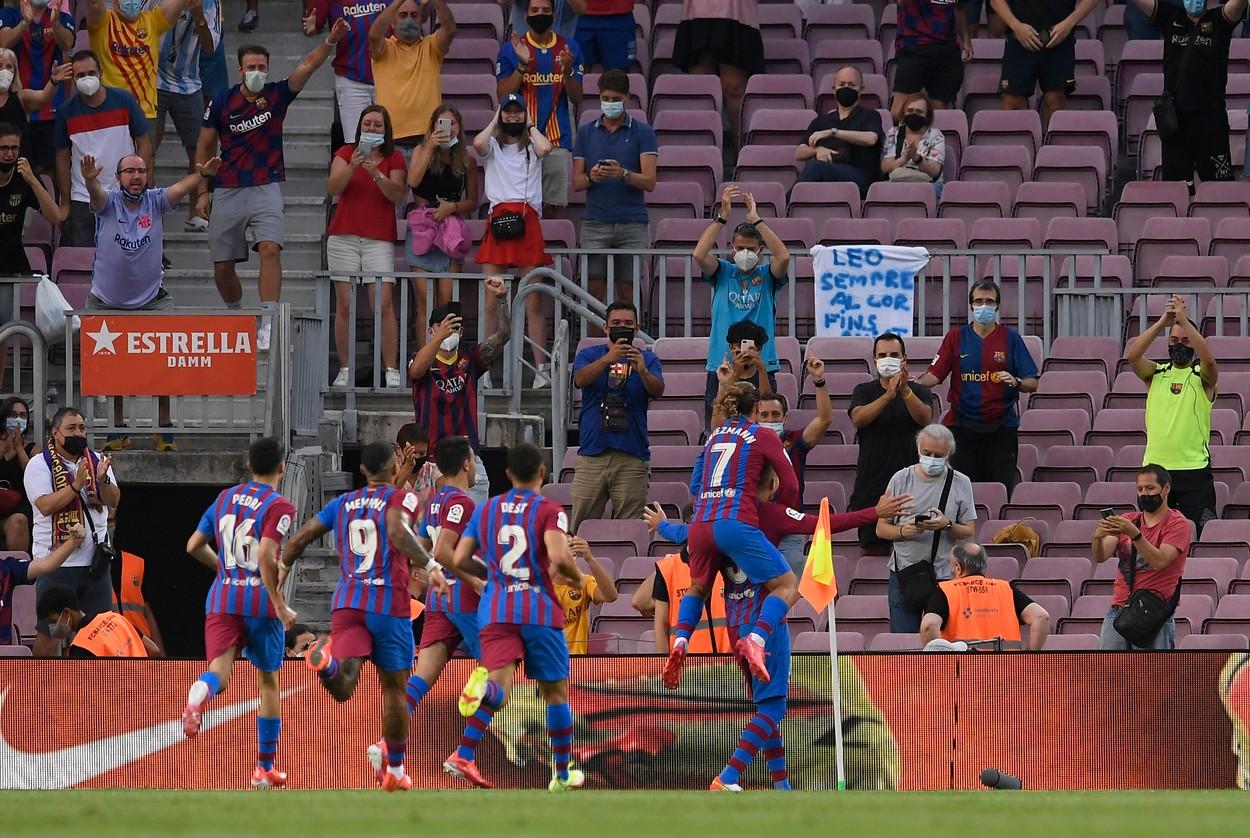 Barcelona - Sociedad, prima etapă din La Liga 2021-2022