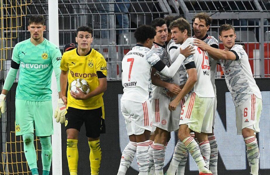 Borussia Dortmund – Bayern Munchen 1-3. Bavarezii au câștigat a 9-a Supercupă din istoria clubului. Erling Haaland, criză de nervi în fața lui Robert Lewandowski