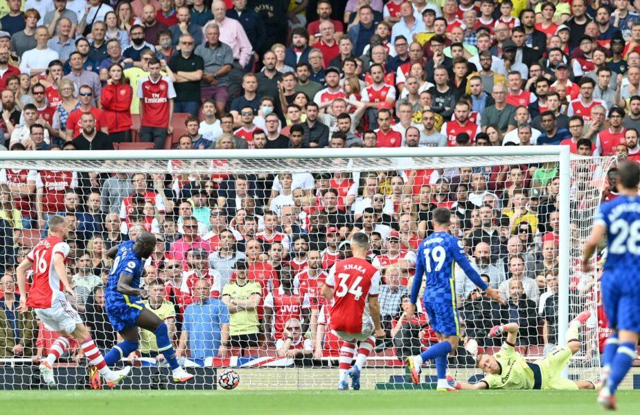 Romelu Lukaku, gol în doar 15 minute după revenirea la Chelsea. Performanţa stabilită în derby-ul cu Arsenal