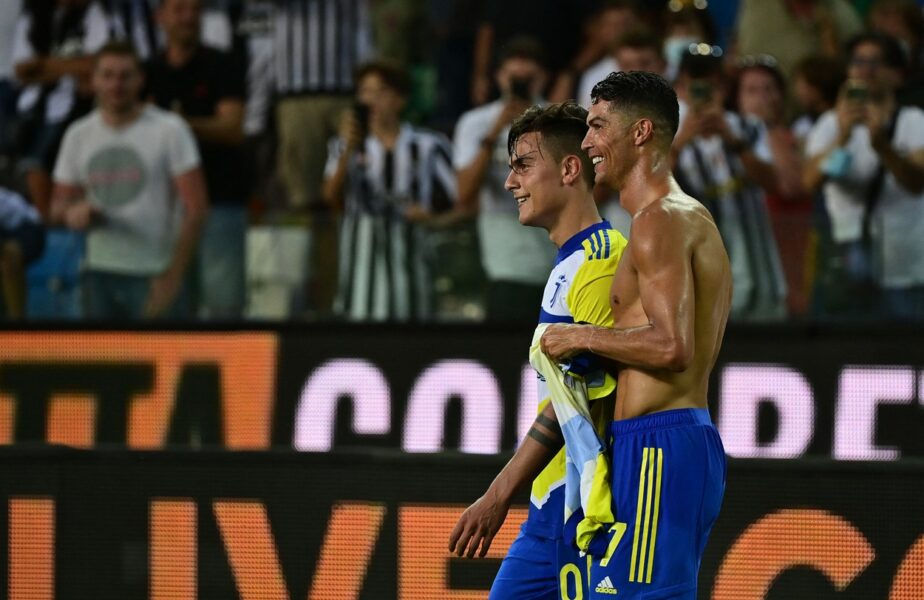 Udinese – Juventus 2-2 | Cristiano Ronaldo, gol anulat în minutul 90+4! Rezerva de lux a lui Allegri s-a bucurat nebuneşte. VAR-ul i-a stricat seara