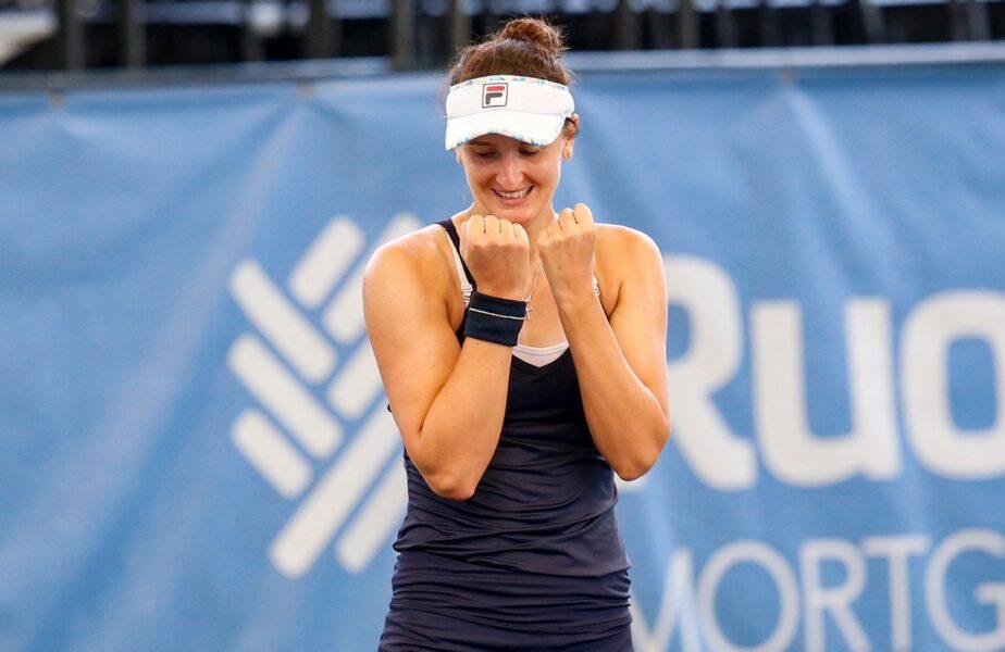 Performanţă uriaşă pentru Irina Begu! S-a calificat în finala turneului de la Cleveland, după un meci colosal cu Magda Linette