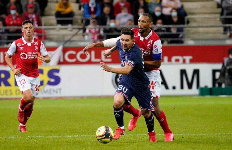 Reims – PSG 0-2. Moment istoric! Messi a debutat la PSG. Argentinianul a intrat în locul lui Neymar. Mbappe a reuşit o dublă de senzaţie