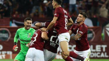 Rapid – CFR Cluj 1-0. Giuleștenii au dat lovitura la Mioveni! Adrian Bălan a deschis scorul. Puștiul Hindrich n-a avut nicio șansă