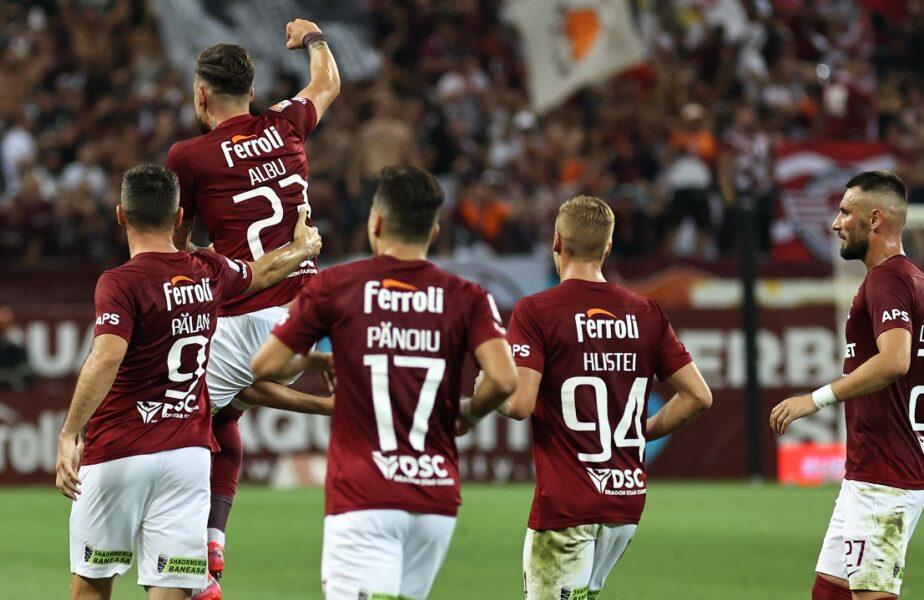 FC Botoşani – Rapid 0-2. Giuleştenii, neînvinşi şi fără gol primit după şase etape! Marocanii introduşi de Mihai Iosif au adus victoria