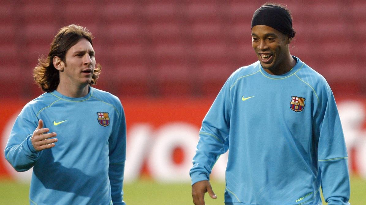 Ronaldinho, genial după transferul lui Lionel Messi la PSG