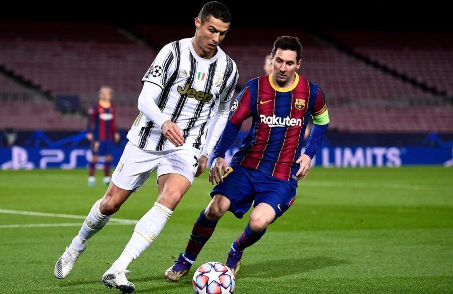 Lionel Messi şi Cristiano Ronaldo