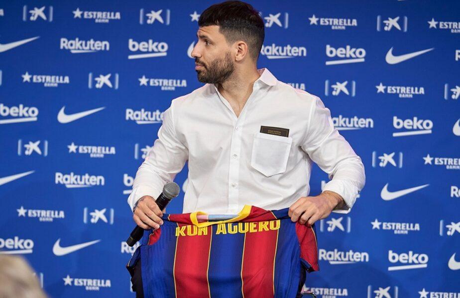 Barcelona a reuşit să-l legitimeze pe Sergio Aguero. Doi titulari şi-au redus salariile pentru a putea juca lângă atacantul argentinian!