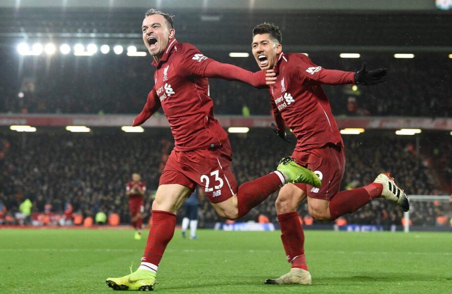 OFICIAL | Liverpool l-a vândut pe Xherdan Shaqiri în Ligue 1! Ce sumă au încasat englezii