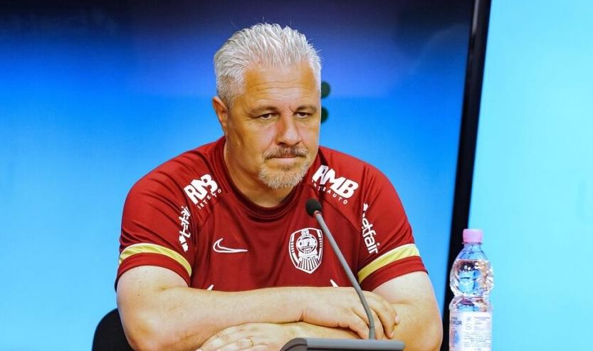 Marius Şumudică, conferinţă de presă