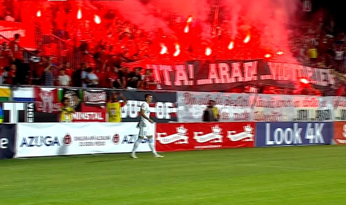 Atmosferă de senzaţie la UTA Arad - FCSB