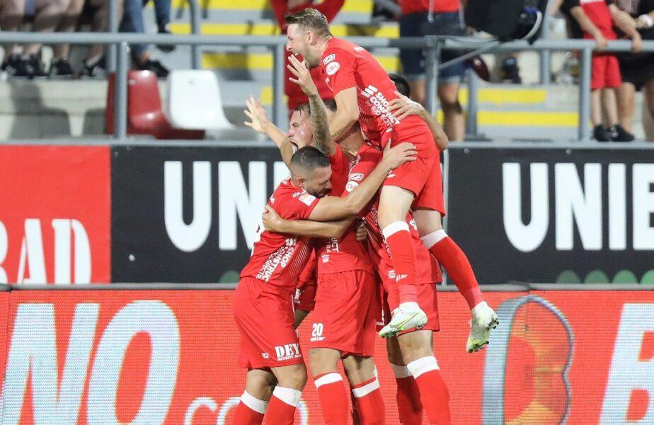 UTA – FC Voluntari 2-0. Arădenii, de neoprit pe teren propriu! Fanii au creat o atmosferă de zile mari