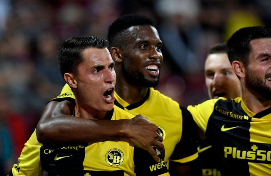 """Seară nebună în play-off-ul Champions League! Young Boys, calificare dramatică cu Ferencvaros. Benfica a eliminat-o pe PSV. Dorin Rotariu și Ludogoreț au ratat """"masa bogaților"""""""