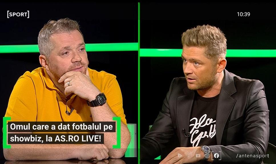 Costin Gheorghe a fost invitat la AS.ro LIVE