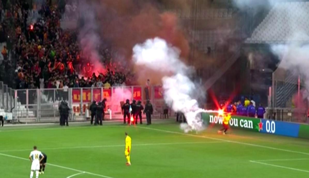 Incidente la Marseille - Galatasaray - Sursa: Captur[ Pro X