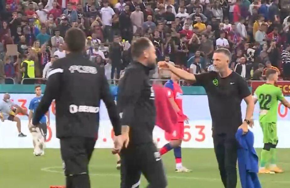 Le-a aruncat prosopul! Mihai Stoica, aroganță maximă la adresa dinamoviștilor! Gestul făcut de MM după FCSB – Dinamo 6-0