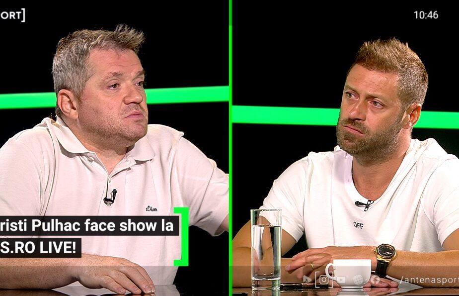 """Cristi Pulhac, dispus să pună umărul la salvarea lui Dinamo! Cum crede că ar putea ajuta clubul său de suflet: """"Avem nevoie de cineva de genul ăsta!"""""""