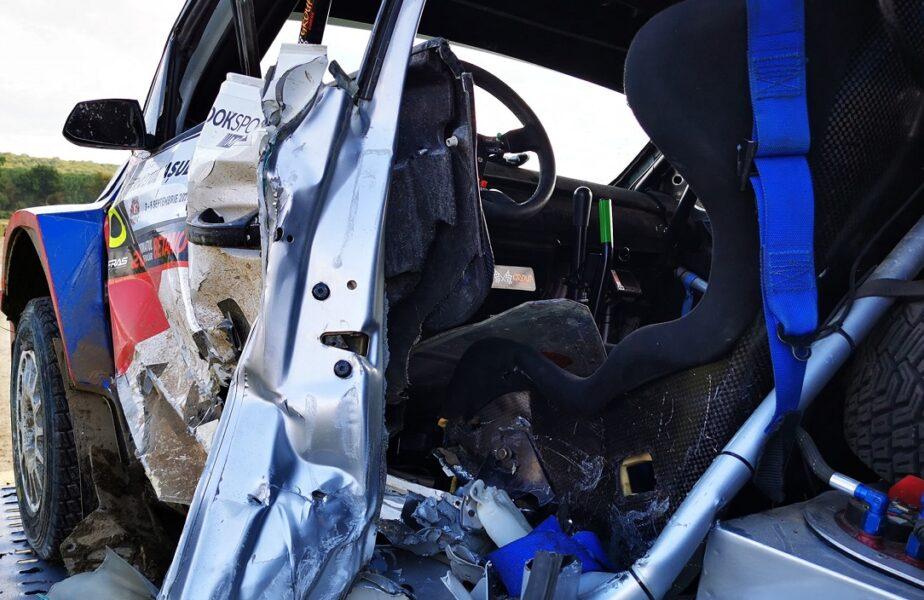 Accident îngrozitor la Raliul Iaşului. Maşina condusă de Adrian Răspopa a intrat într-un cap de pod! Din păcate, pilotul de raliuri a decedat