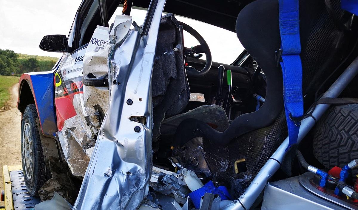 Adrian Răspopa implicat într-un accident grav