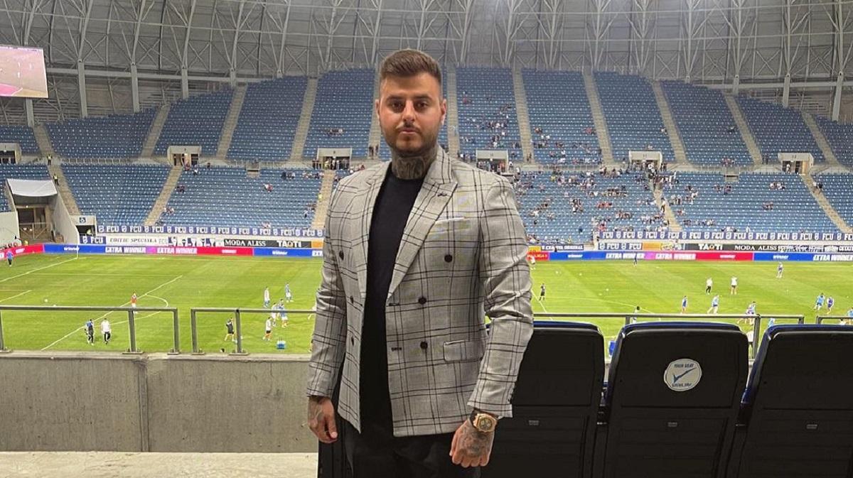 Adrian Mititelu Jr, pe stadionul din Bănie