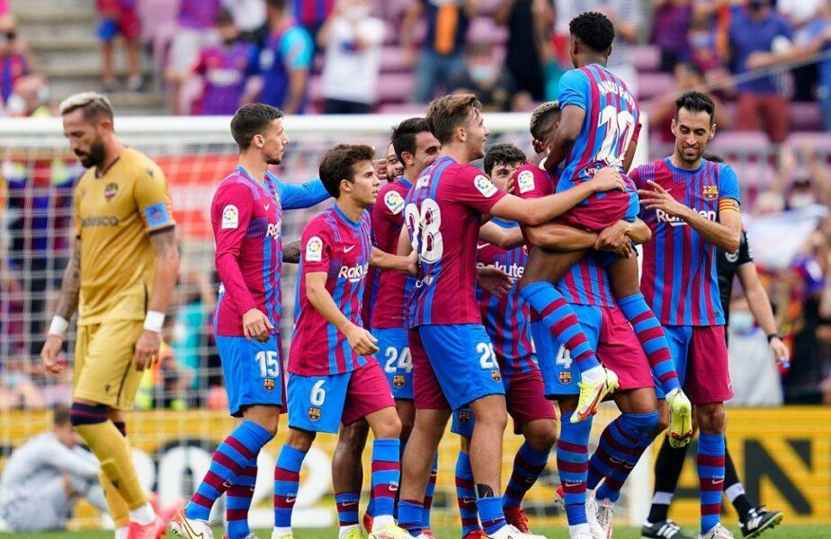 Barcelona – Levante 3-0. Gură de aer pentru Ronald Koeman! Revenire spectaculoasă pentru urmașul lui Lionel Messi