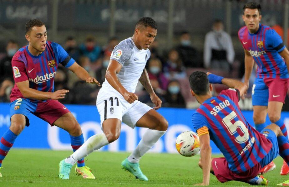 Barcelona – Granada 1-1. Continuă criza la echipa lui Ronald Koeman! Catalanii au egalat în prelungiri